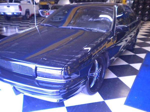 Impala Front Corner