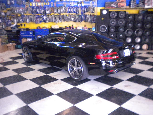 Aston Martin DB9 Side View