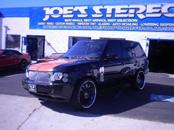 Range Rover Joe's Stereo