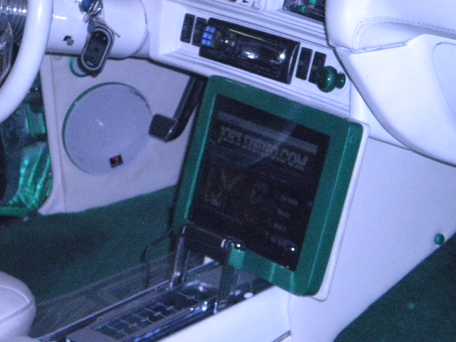 Chevy Chevelle iPad Dash