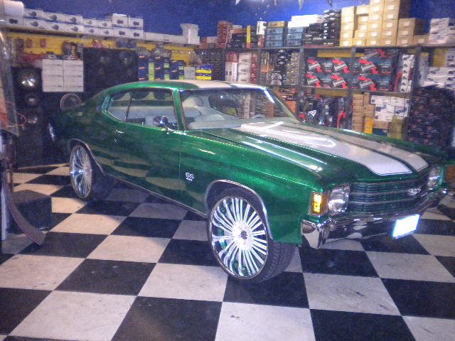 Chevy Chevelle 100 Spokes
