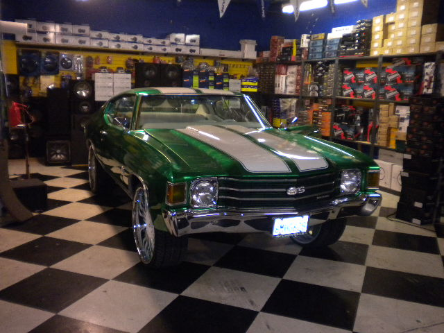 Chevy Chevelle Custom Paint