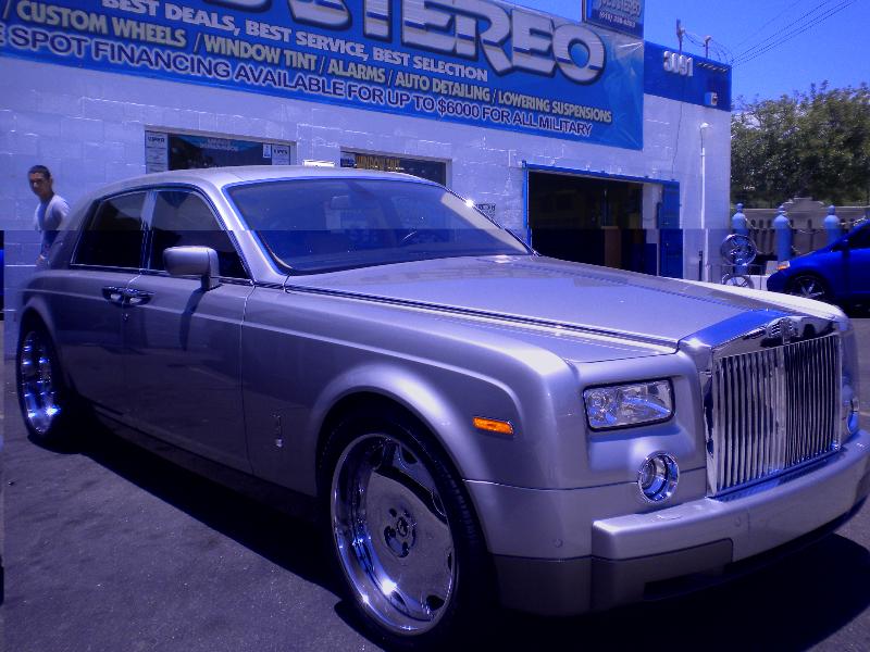 Bentley Arnage Custom Wheels