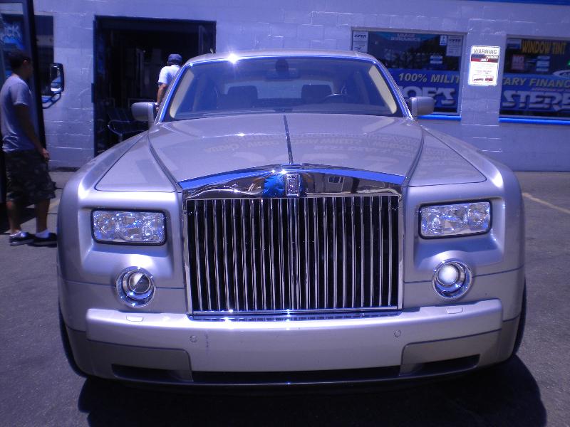 Bentley Arnage Grille