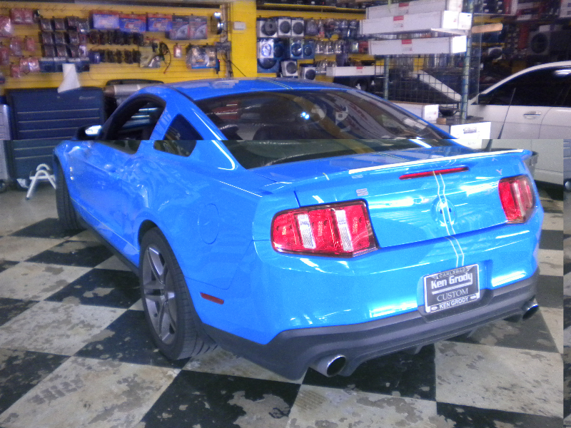 Mustang Cobra Rear View