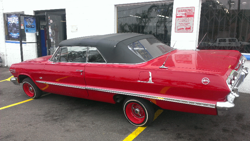 Classic Impala with Custom Wheels