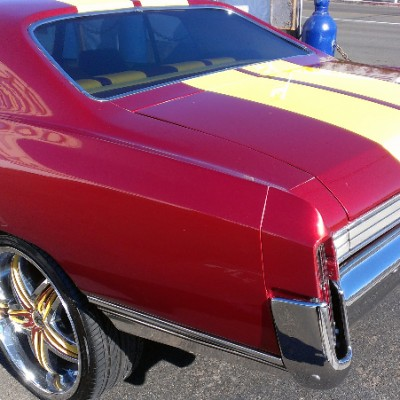 Classic Monte Carlo custom wheels