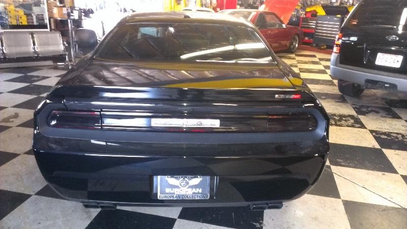 Dodge Challenger Rear