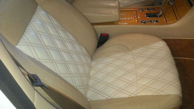 Bentley Arnage Leather Seats