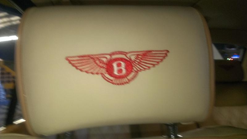 Bentley Arnage Headrest