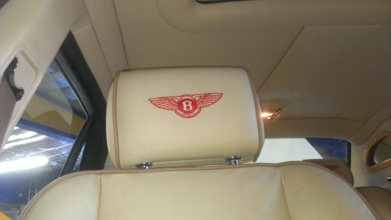 Bentley Arnage Headrest