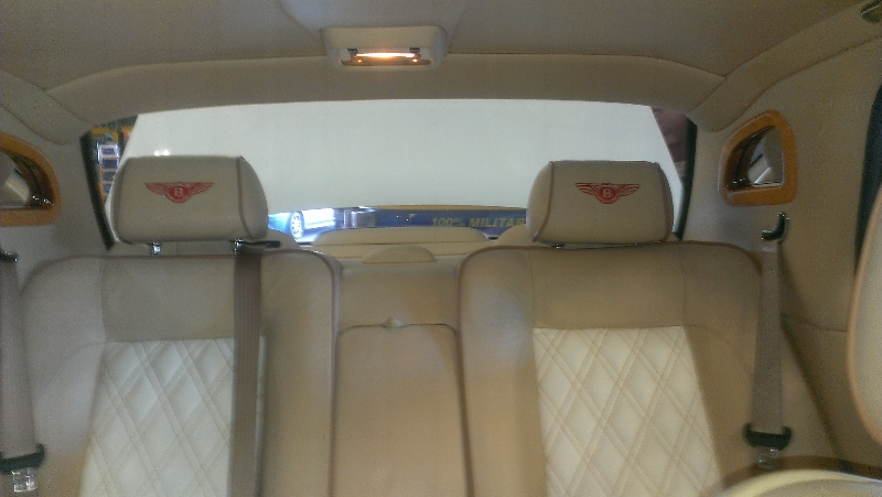 Bentley Arnage Rear Seats
