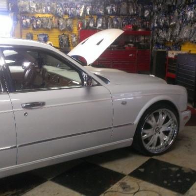Bentley Arnage Side