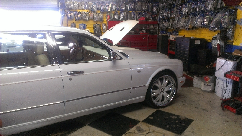 Red Window Tint >> Bentley Arnage Red Label w/ Custom Wheels | Joe's Stereo