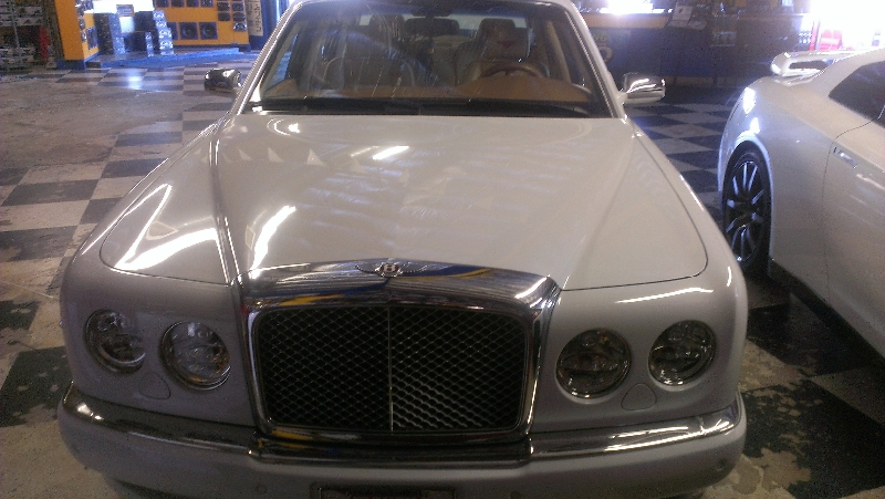 Bentley Arnage Grille