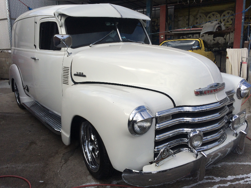 Chevy Panel Front