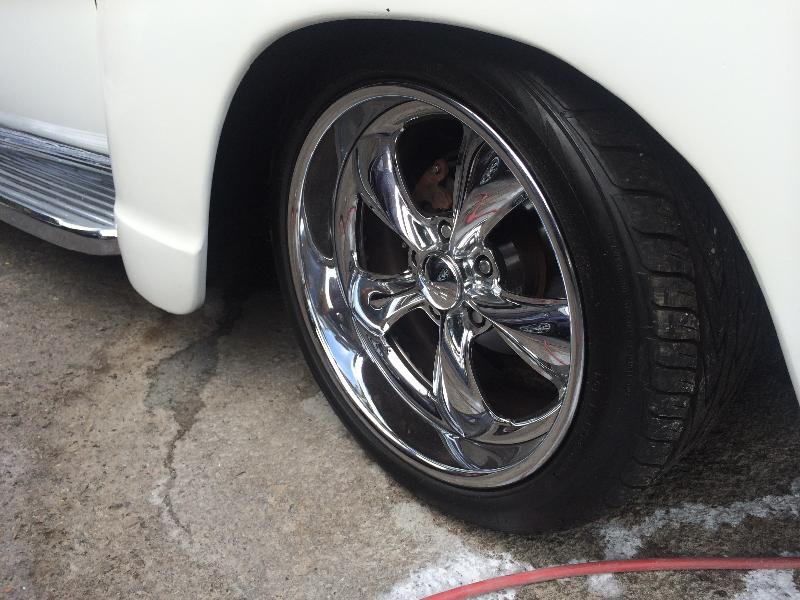 Chevy Panel Chrome Wheels
