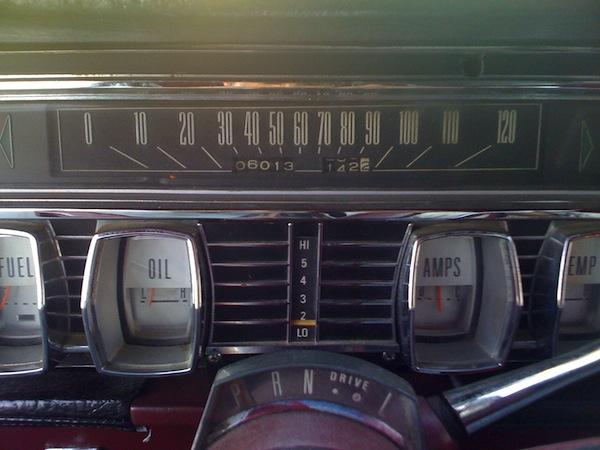 Classic Continental Dash