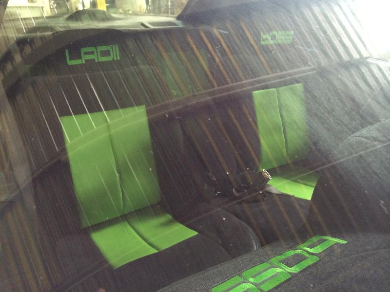 Custom Green Interior