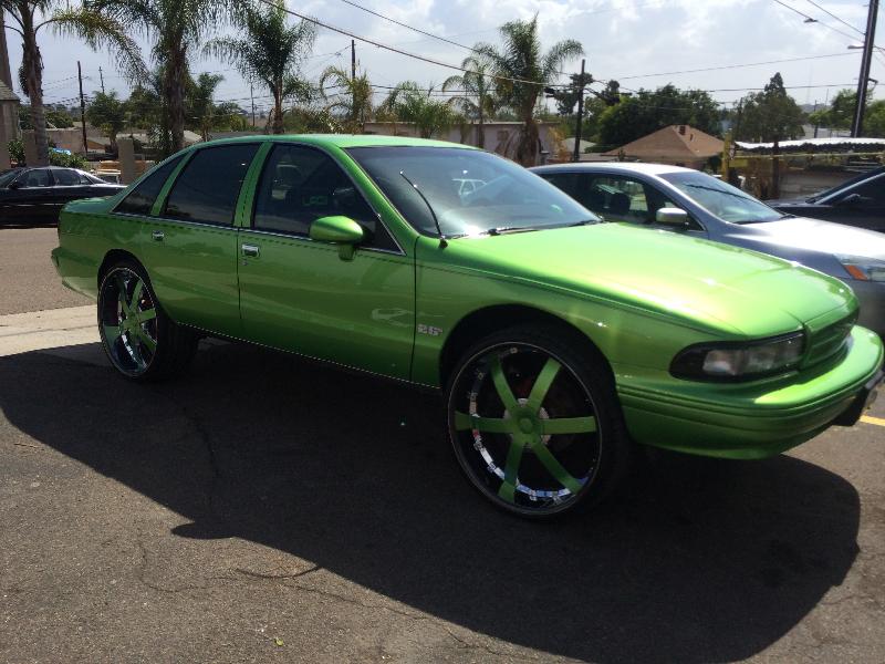Green Impala Side View