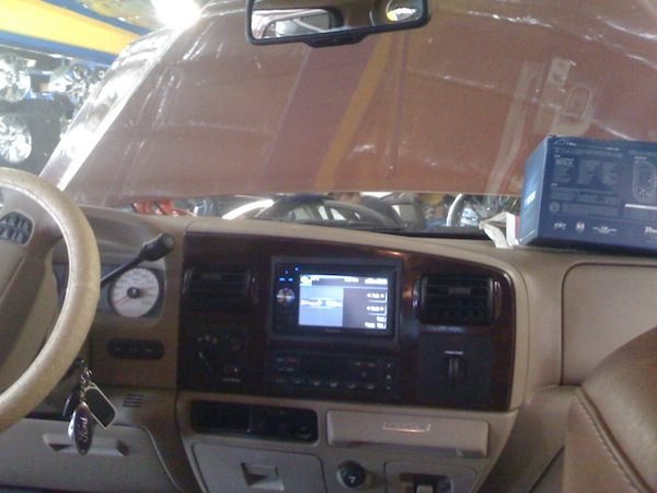 Tundra Custom Head Unit
