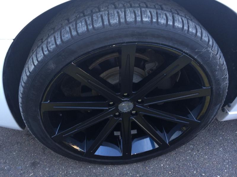 Custom Black Wheels