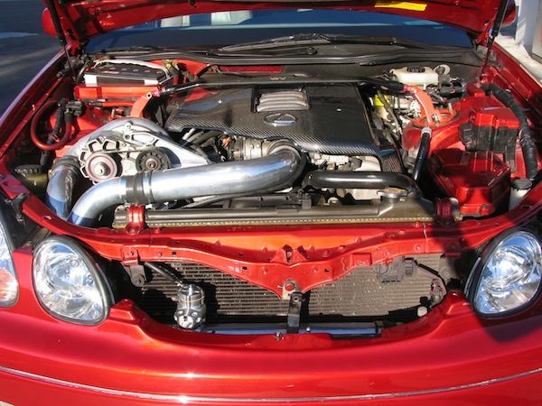 Lexus GS350 Engine