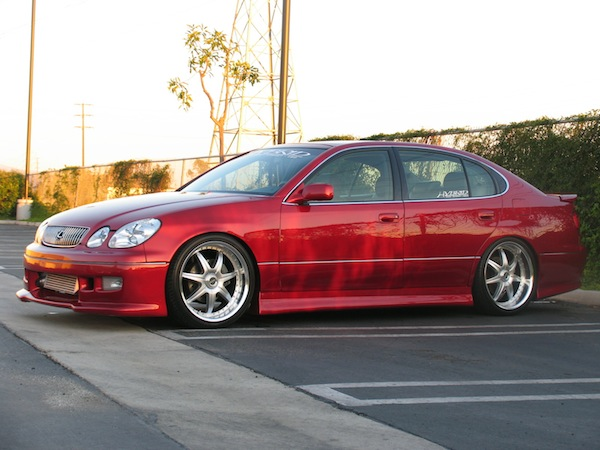 Lexus GS350 Custom Wheels