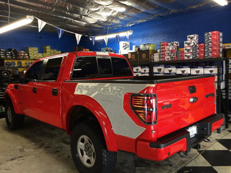 F-150 Raptor Custom Decal