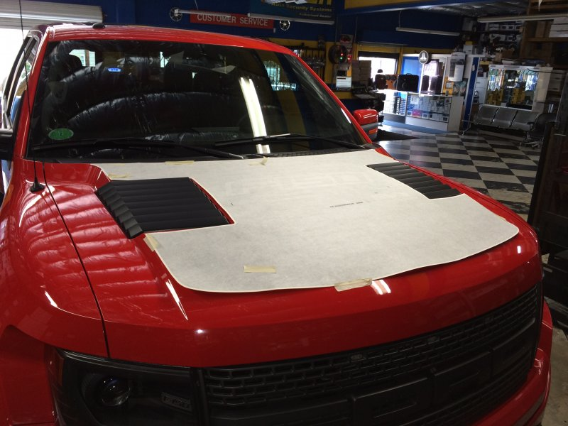 F-150 Raptor Custom Hood Decal