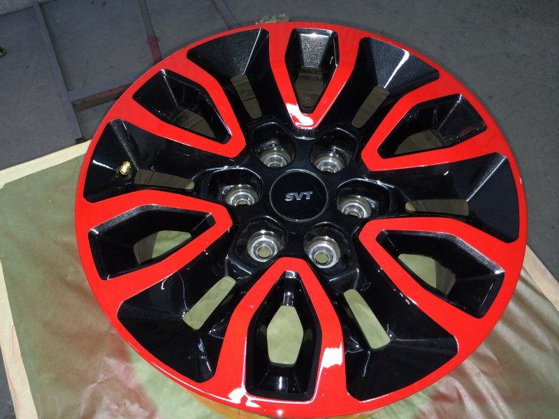 Custom Painted Wheels