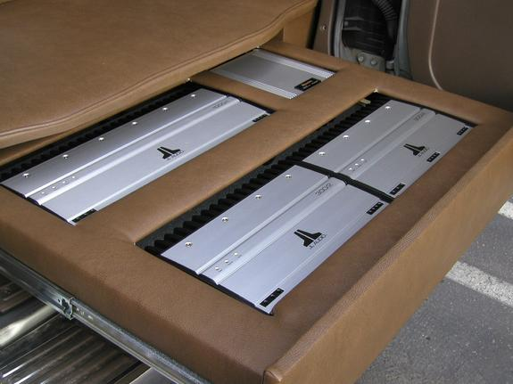 Montero with JL Audio Amplifiers