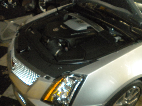 CTS-V Engine Compartment