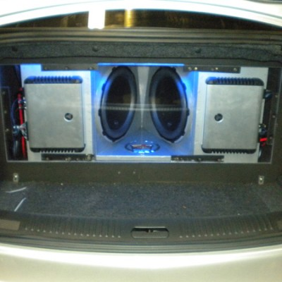 Custom JL Audio System with Lights
