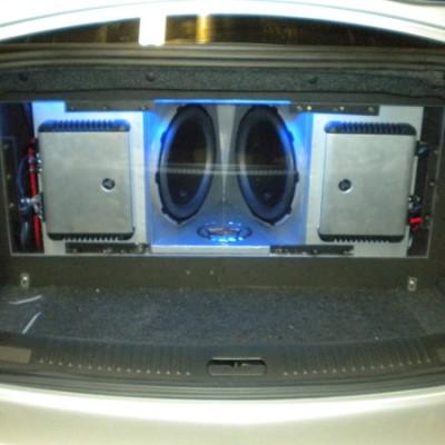 Custom JL Audio System with Lights