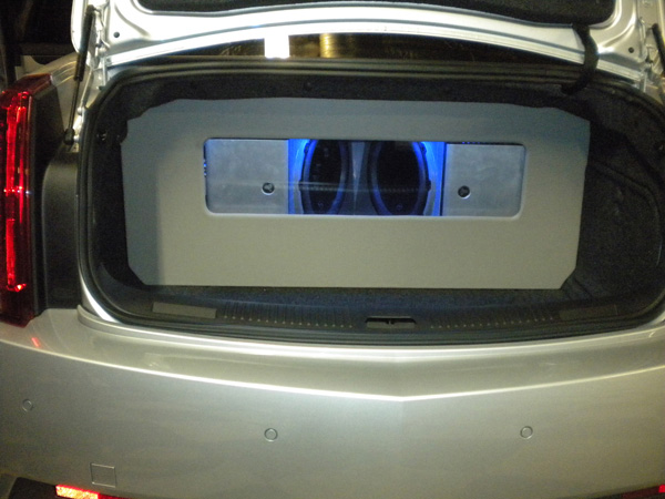 Custom JL Audio System with Cover