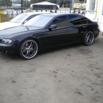 Black BMW 5-Series Custom Wheels