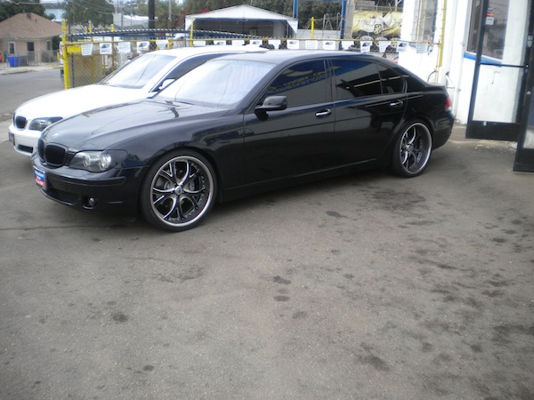 Black BMW 5-Series Custom Wheels