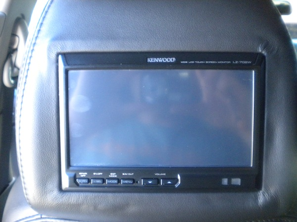 Kenwood Headrest Video for Denali