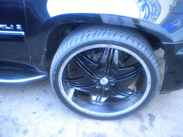 Black Asanti Wheels