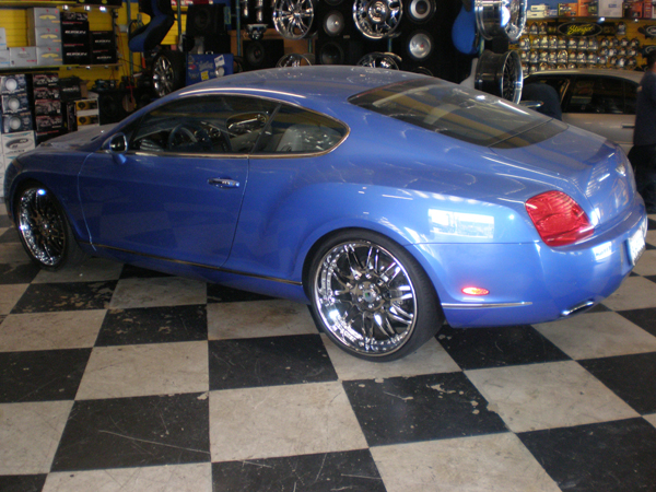 Bentley Continental Side View