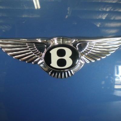 Bentley Continental Badge