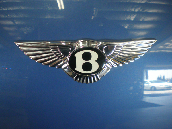 Bentley Continental Badge