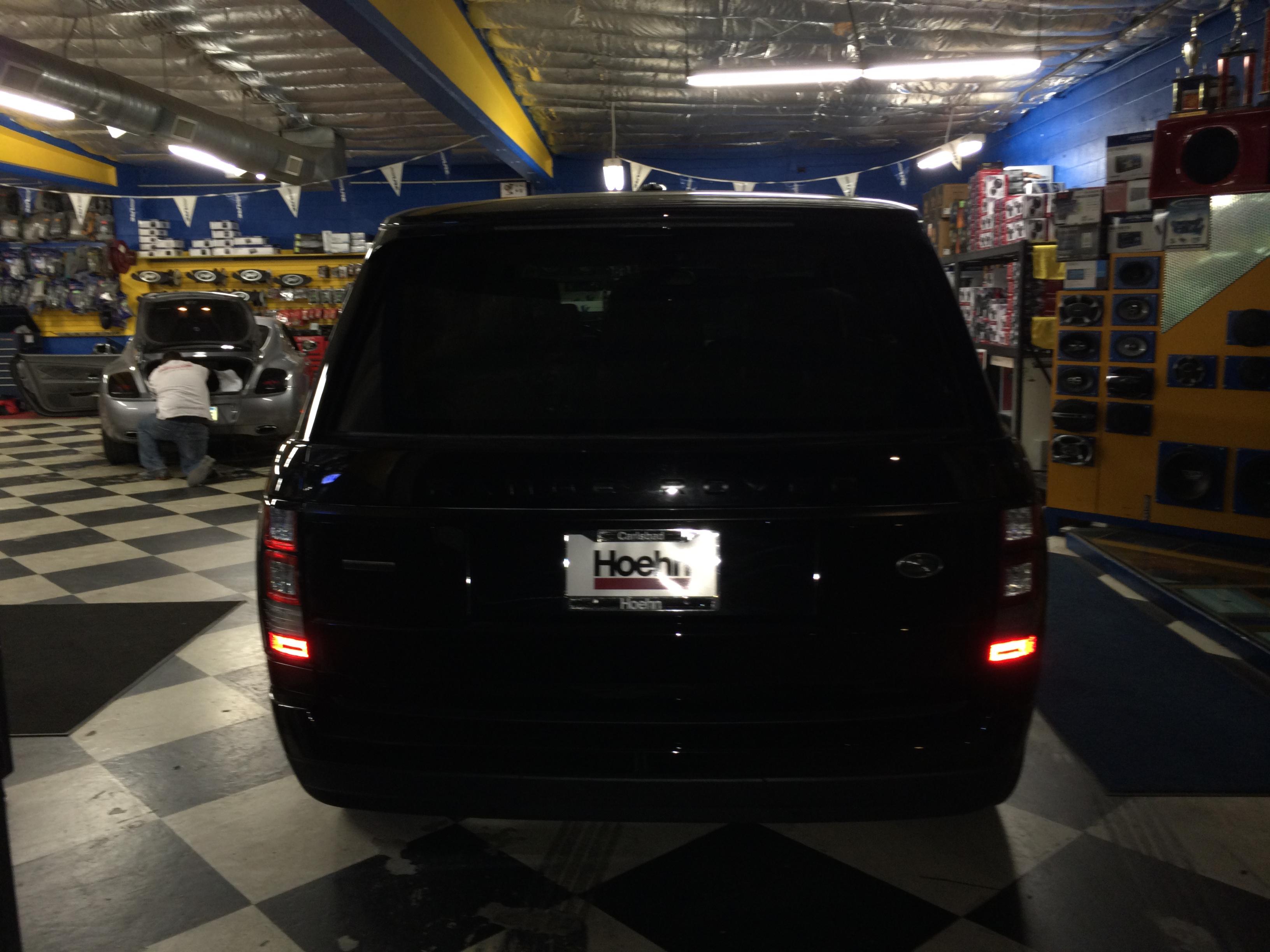 2014 Range Rover Blacked Out Joe S Stereo