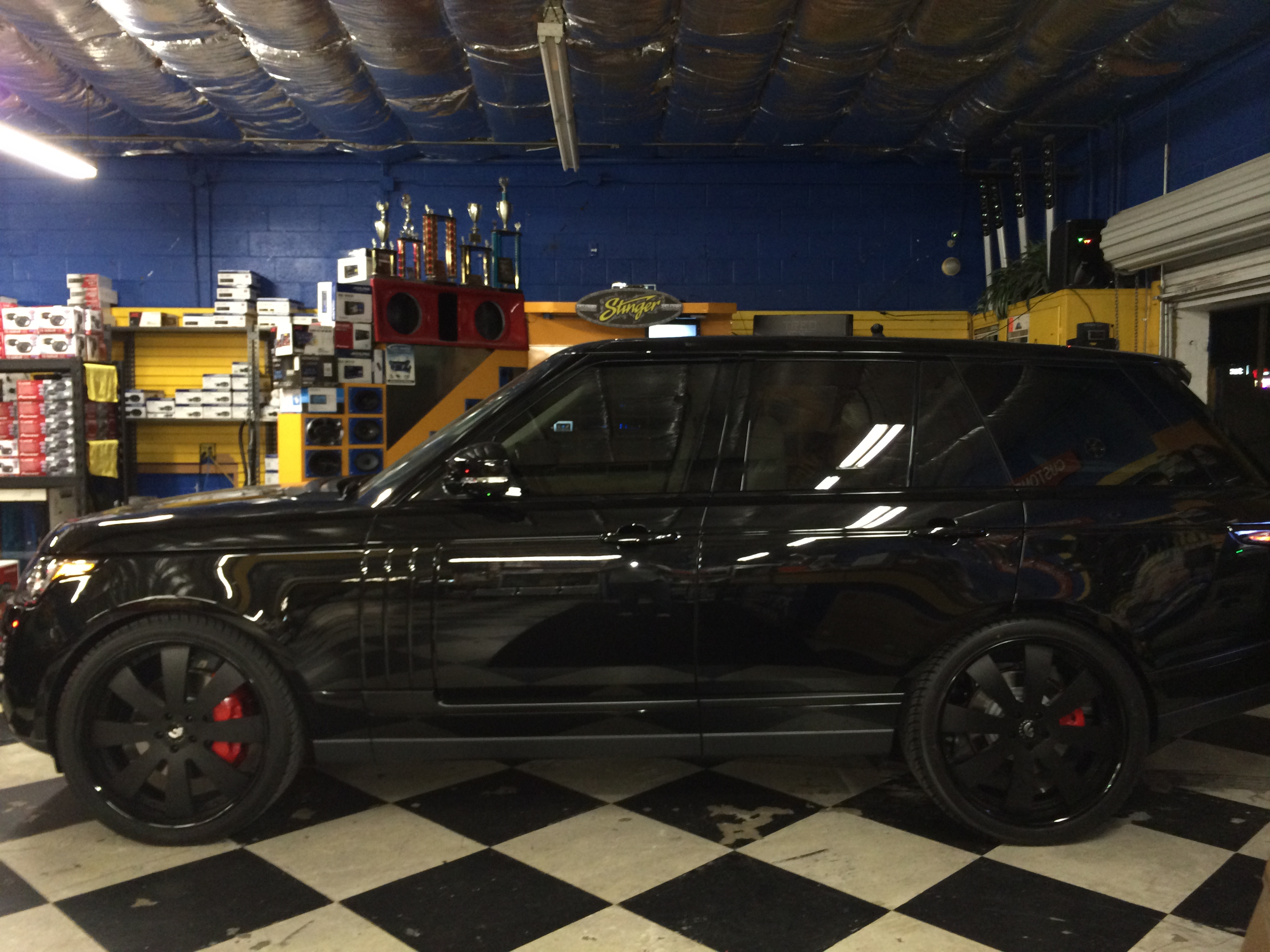 Joes Auto Repair >> 2014 Range Rover Blacked Out | Joe's Stereo