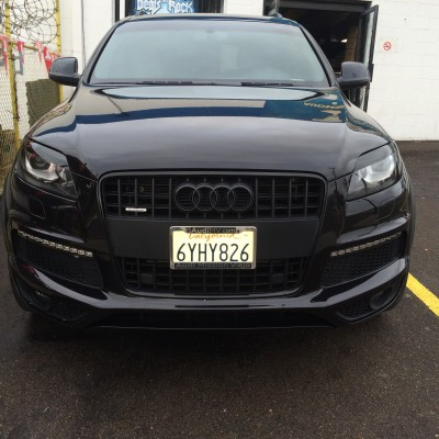 Blacked out Audi Q7
