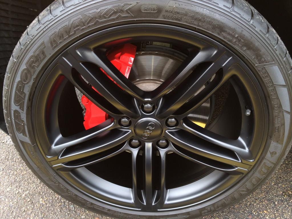 Black Audi Rims