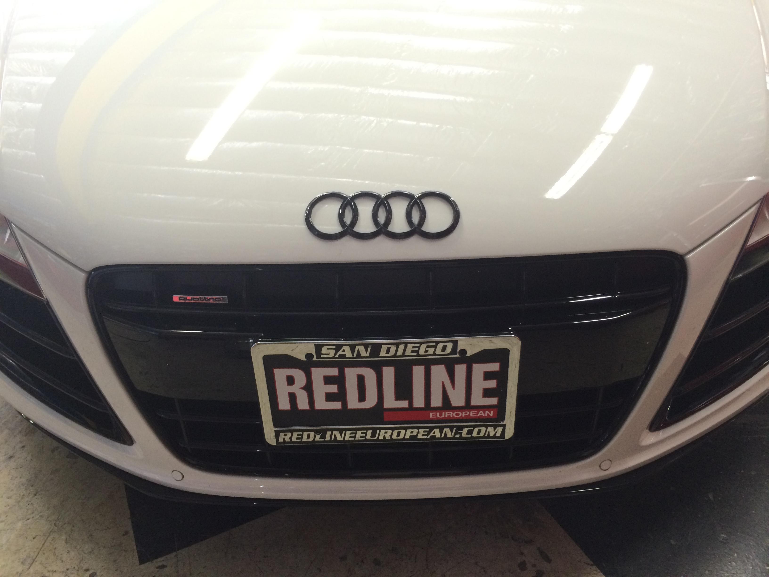 White Audi R8 Joe S Stereo