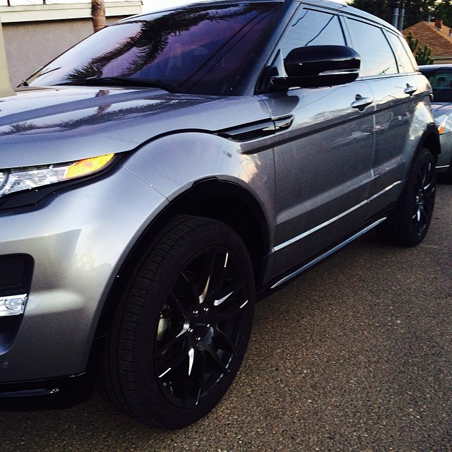 2014 Range Rover Evoque Custom Audio System with Tinted Windows