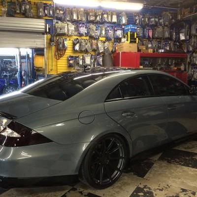 Grey Mercedes CLS Window Tint